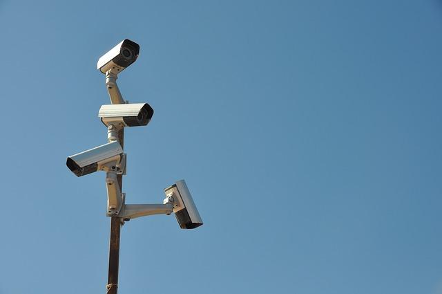 Camerabewaking op de bouwplaats